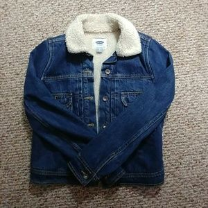 Old Navy Jean Jacket with Fur